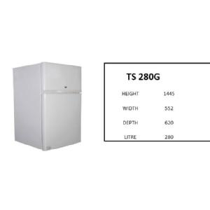 280L TOP FREEZER/BOTTOM FRIDGE Image
